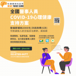 醫事人員COVID-19心理健康支持方案